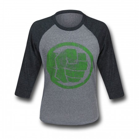 Hulk Fist Bump Men's Baseball T-Shirt