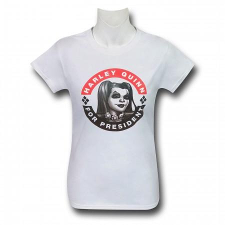 Harley Quinn New 52 for President Women's T-Shirt