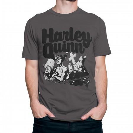 Harley Quinn Cemetery R.I.P. Men's T-Shirt