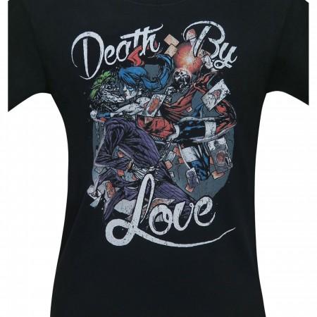 Harley Quinn Death By Love Men's T-Shirt