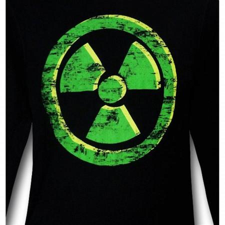Hulk Gamma Black Thermal Long Sleeve T-Shirt