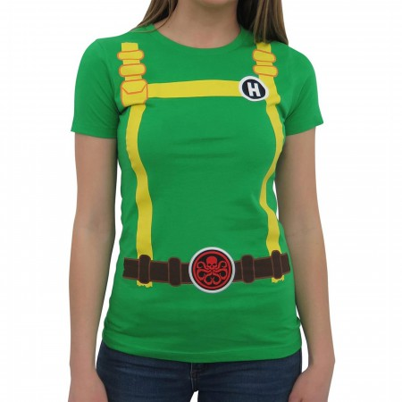 Hydra Soldier Women's Costume T-Shirt