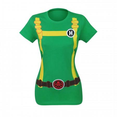 Hydra Soldier Women's Costume T-Shirt