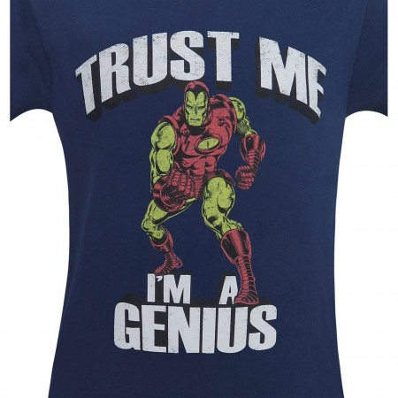 Iron Man Trust Me I'm A Genius Men's T-Shirt