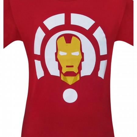 Iron Man and Arc Reactor Minimalist Men's T-Shirt