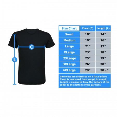Iron Fist Living Weapon Dragon Men's T-Shirt