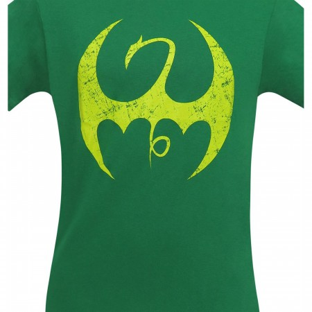 Iron Fist Distressed Symbol Men's T-Shirt