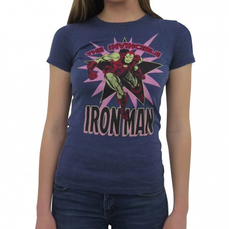Iron Man Invincible Burst Women's T-Shirt