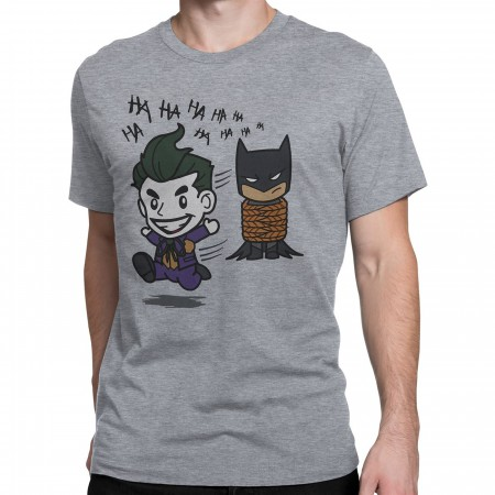Joker Gotcha All Tied Up Chibi Men's T-Shirt