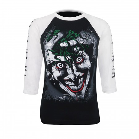 Joker Killing Joke Men's Baseball T-Shirt