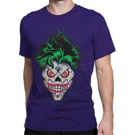 Joker Sugar Skull Men's T-Shirt