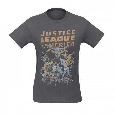 Justice League of America Big Group Men's T-Shirt