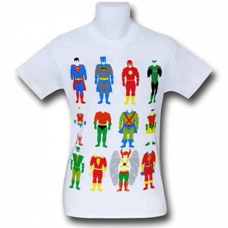 Justice League Costumes T-Shirt