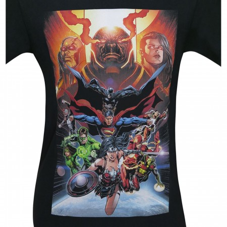 Justice League The Darkseid War Men's T-Shirt
