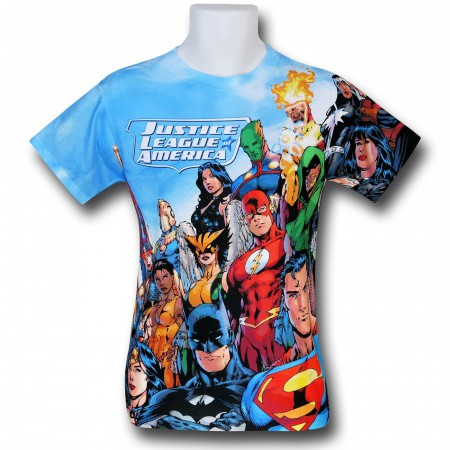 Justice League Group Sublimated T-Shirt