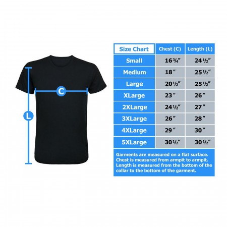 Justice League Movie Shield Men's T-Shirt