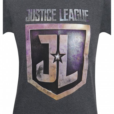 Justice League Movie Badge Youth T-Shirt