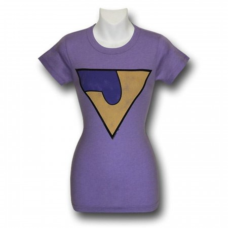 Wonder Twins Jayna Juniors Junkfood T-Shirt