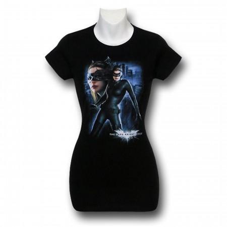 Dark Knight Rises Catwoman Catwalk Women's T-Shirt