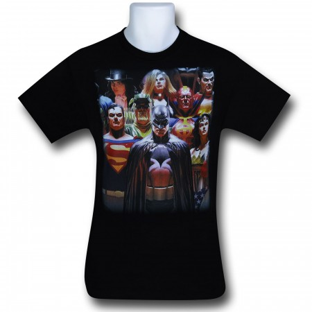 Justice by Alex Ross T-Shirt