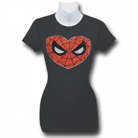 Spiderman Women's Heart Spidey T-Shirt