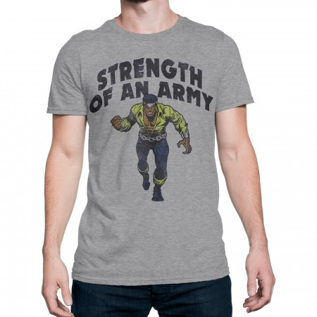 Luke Cage Strength of an Army Men's T-Shirt
