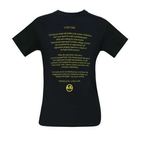 Luke Cage I'm Bustin' Out Bio Men's T-Shirt