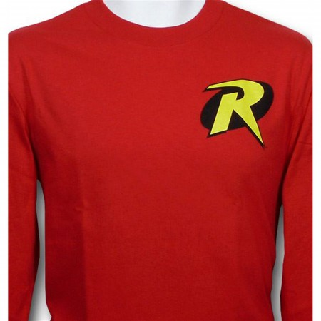 Robin Symbol Long Sleeve T-Shirt