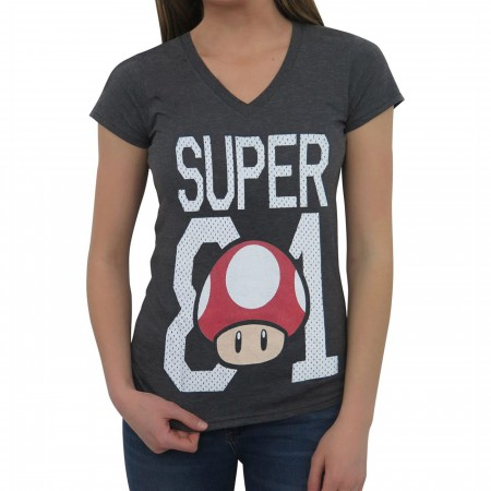 Nintendo Super Mario Bros. 81 Women's T-Shirt