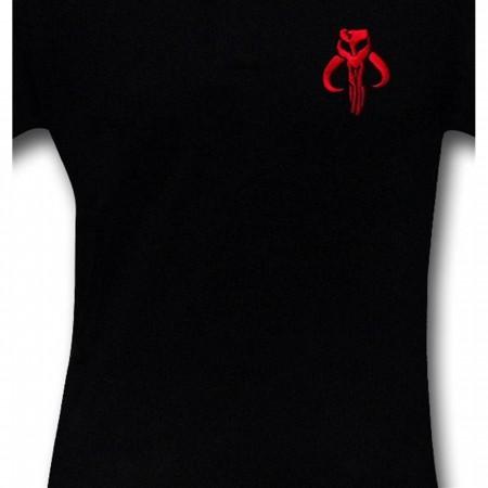 Star Wars Mandalorian Black Polo Shirt