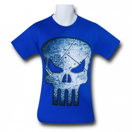 Punisher Blue Steel Symbol T-Shirt