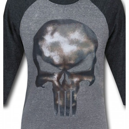 Punisher Movie Symbol Men's Baseball T-Shirt