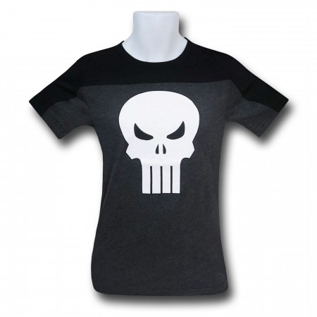 Punisher Symbol Two-Tone Men's T-Shirt