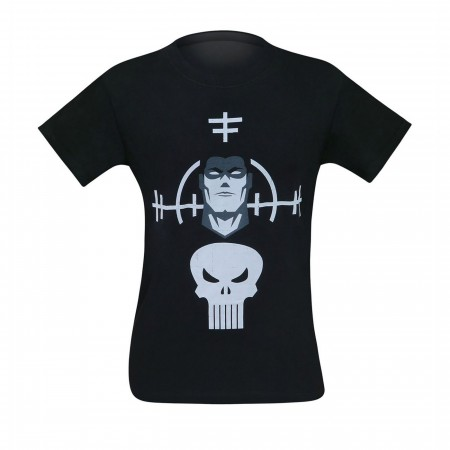 Punisher and Target Minimalist Men's T-Shirt