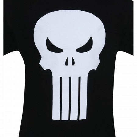 Punisher White Skull T-Shirt