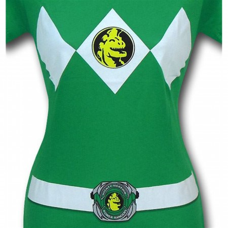 Power Rangers Green Ranger Women's T-Shirt