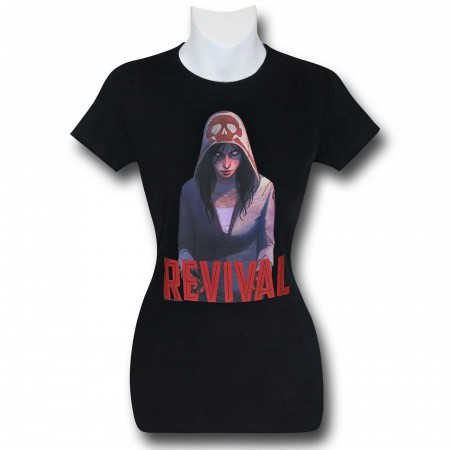 Revival Em on Black Women's T-Shirt