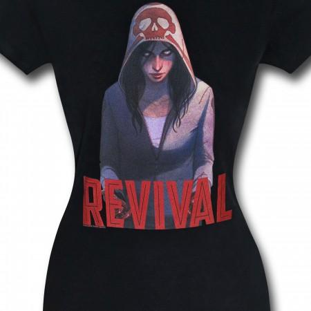 Revival Em on Black Women's T-Shirt