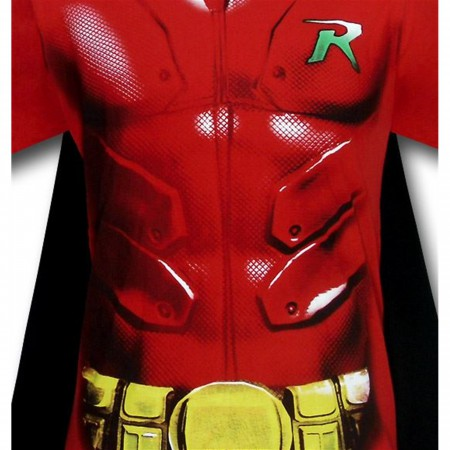 Robin Caped Armor Costume T-Shirt