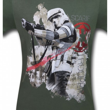 Star Wars Rogue One Scarif Trooper Men's T-Shirt