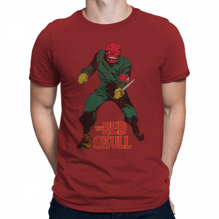 Red Skull I'm Back Men's T-Shirt