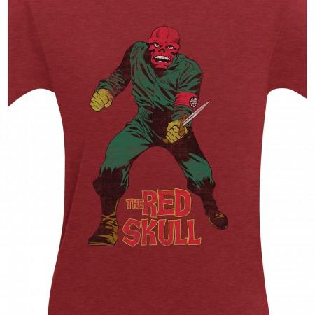 Red Skull I'm Back Men's T-Shirt