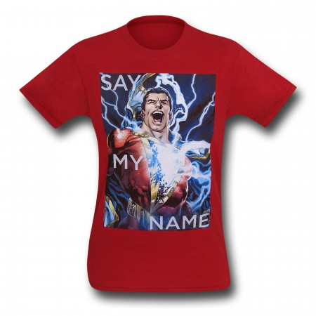 Shazam Say My Name T-Shirt