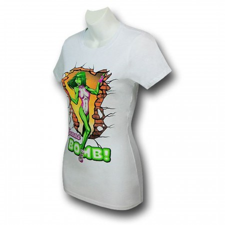 She-Hulk Gamma Bomb Women's T-Shirt