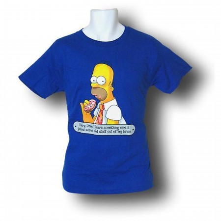 Simpsons Homer Learn Something New T-Shirt