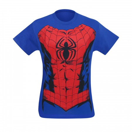 Spider-Man Suit-Up Men's Costume T-Shirt
