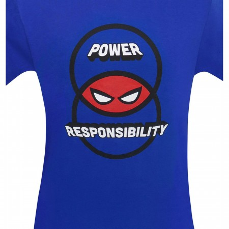 Venn Diagram Power & Responsibility Men's T-Shirt