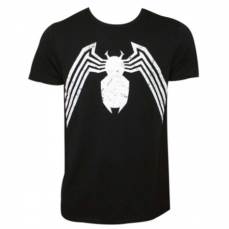 Spider-Man Symbiote Costume Symbol Men's T-Shirt
