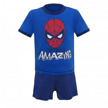 Spider-Man Totally Amazing Newborn 3-Piece Set