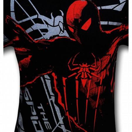 Amazing Spider-Man Movie Flying Webs T-Shirt